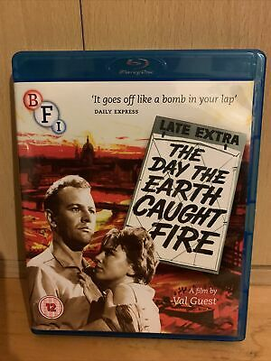 £5.99 • Buy The Day The Earth Caught Fire Blu Ray Includes Booklet