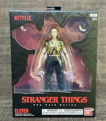 AU117.30 • Buy EXCLUSIVE Bandai Stranger Things The Void Series ELEVEN (NETFLIX)