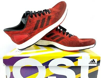 AU155 • Buy Adidas PureBOOST DPR Mens Size 11 Sneaker Shoe Running Exercise Red Black BB6294