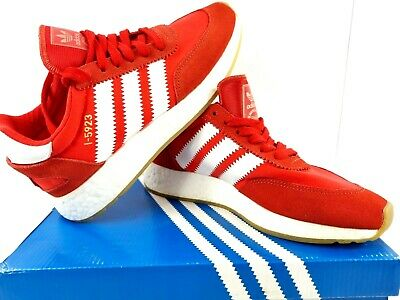 AU149.90 • Buy Adidas Iniki Runner I-5923 Running Sneaker Shoes Mens Size 5 Red Lace Up BB2091
