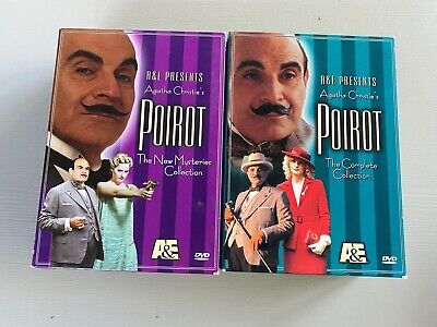 £18.09 • Buy Agatha Christie's Poirot DVD Box Sets The Complete Collection New Mysteries A&E