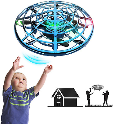 AU37.27 • Buy IOKUKI - Hand Operated Mini Drones For Kids & Adults With Shinning LED Lights, S