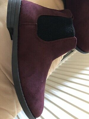 £4.99 • Buy Burgundy Boots Size 4 Brand New
