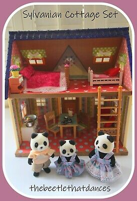 £30 • Buy Sylvanian Families Decorated Cottage/House, Furniture, Accessories, Figures