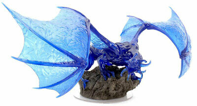AU93.46 • Buy Dungeons & Dragons Icons Of The Realms: Sapphire Dragon Premium Figure