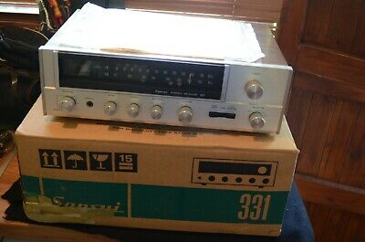 £165 • Buy Sansui 331 1970's  Stereo Receiver Amplifier. Full Working Order. Sounding Great