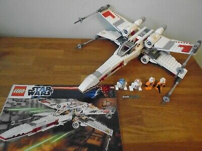 £50 • Buy Lego Star Wars 9493 - X-Wing Starfighter - 100% Complete, Instructions