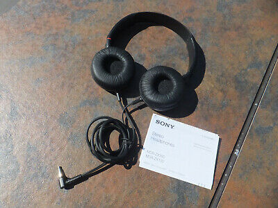 £7.99 • Buy Sony Stereo Over The Ear Adjustable Wired Headphones MDR-ZX100 - Works