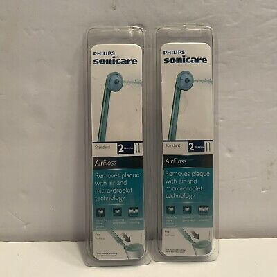 AU53.40 • Buy LOT OF 4 (2 Packs) Genuine Philips Sonicare AirFloss Replacement Nozzle HX8012