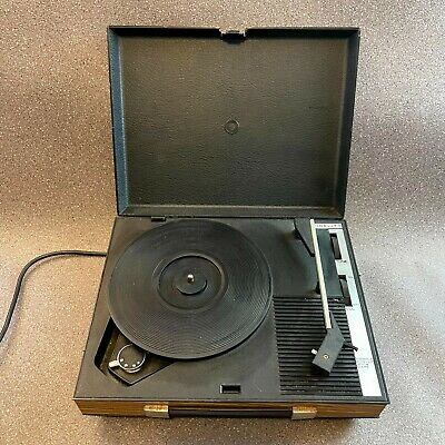 £64.95 • Buy Vintage Fidelity Mini Record Player Turntable, HF42, 78/45/33 Rpm,Tested Working