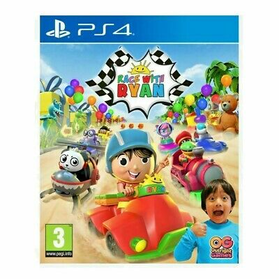 AU36.50 • Buy RACE WITH RYAN Playstation 4 PS4 GAME KIDS KART RACING **BRAND NEW & SEALED!**