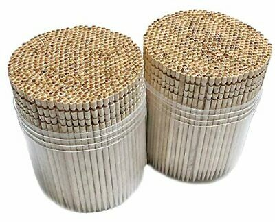 £6.77 • Buy  1000 Wooden Toothpicks Ornate Handle In Toothpicks Holder Container 2 Packs