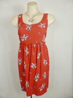 AU19.95 • Buy ASOS Cute Red Blue Green White Floral Print Chic Sundress Sz 12 14