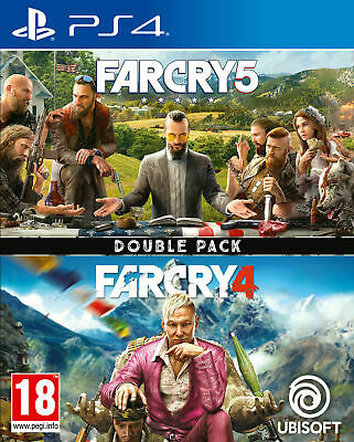 AU46.08 • Buy Far Cry 4 & Far Cry 5 Double Pack Playstation 4 PS4 EXCELLENT Condition