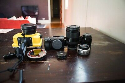 AU2416.62 • Buy Sony A6300 Camera + Water Photography Package