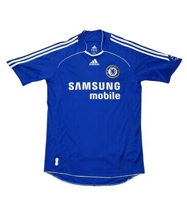 £23.99 • Buy Chelsea FC 2006/07/08 06-08 Home Shirt 2007- Size Small - Adidas Jersey