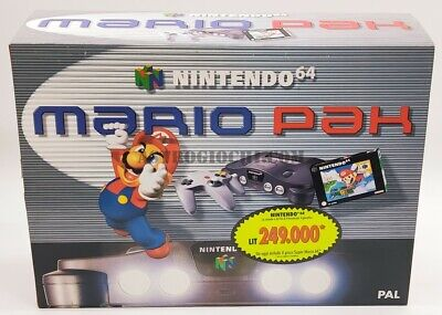 AU1394.20 • Buy Nintendo 64 Mario Pak Pal Vintage Gig Game New In Beautiful Box Never Removed