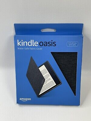 AU26.62 • Buy New! Amazon Kindle Oasis Water-Safe Fabric Cover - Charcoal Black 9th, 10th Gen
