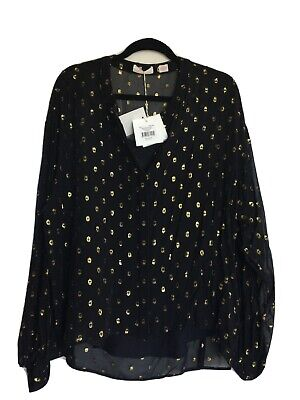 AU160 • Buy Sass And Bide 14/44 Dance In The Dark Shirt & Cami New With Tags