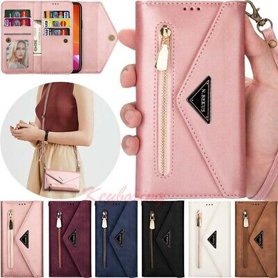AU19.18 • Buy For IPhone 13 12 11 Pro Max XS 6S 7 8 Plus Wallet Card Holder Leather Case Cover