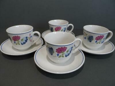 £8.99 • Buy Bhs Priory 4 X Cups & Saucers