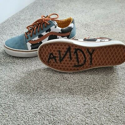 £22 • Buy Vans X Toy Story Old Skool Woody UK7.5 Limited Edition Rare.