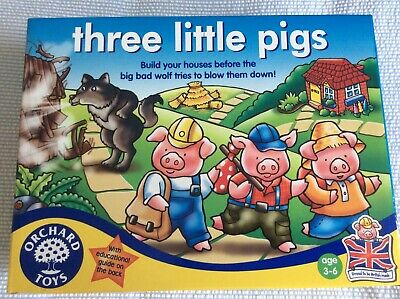 £5.25 • Buy Three Little Pigs  - Orchard Toys - Age 3-6 Years - Number/Counting Skills - New