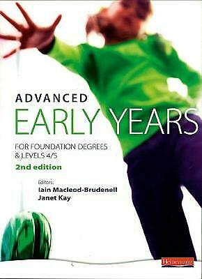 £3.75 • Buy Advanced Early Years: For Foundation Degree... By Walkup-Taylor, Vivie Paperback