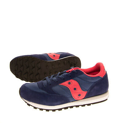 £19.99 • Buy SAUCONY JAZZ Kids Sneakers Size 36 UK 3 US 4 Contrast Suede Leather Logo Lace Up