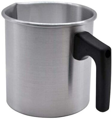 £11.95 • Buy 1L Wax Melting Pot Candle Making Pouring Pot Heat Resisting Handle Designed Drip