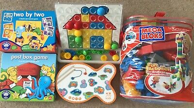 £10 • Buy Orchard Toys Game Bundle & MEGA BLOKS Age 2+ Post Box Game Two By Two & More!