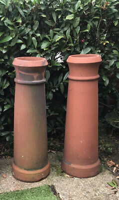 £50 • Buy 2 Red Clay Chimney Pots/Planters