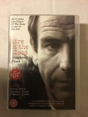 £8 • Buy Dvd Box Set Series 1 To 6 Wire In The Blood Completely Wired New Sealed