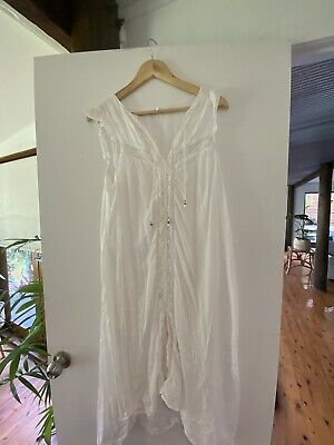 AU120 • Buy Spell And The Gypsy White Midi Dress RARE HARD TO FIND
