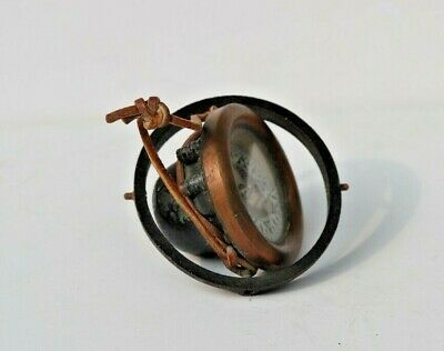 £27.50 • Buy Antique Ship's Nautical Floating Compass Made In USA Repair Display