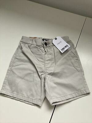£3.50 • Buy Next Boys Chino Shorts Age 18-24 Months Colour: Putty RRP £7