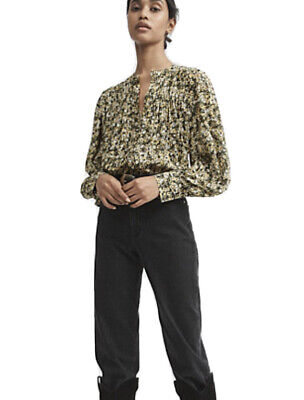AU31 • Buy Witchery Floral Pintuck Shirt Size 12