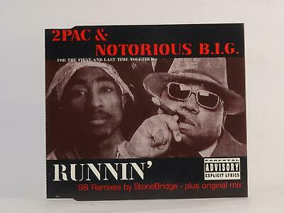 £2.46 • Buy 2 PAC AND NOTORIOUS B.I.G. RUNNIN' (I42) 3 Track CD Single Picture Sleeve MBA