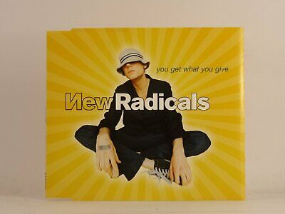 £2.46 • Buy NEW RADICALS YOU GET WHAT YOU GIVE (B32) 3 Track CD Single Picture Sleeve MCA