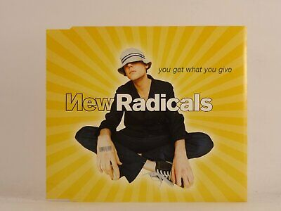 £2.46 • Buy NEW RADICALS YOU GET WHAT YOU GIVE (B42) 3 Track CD Single Picture Sleeve MCA