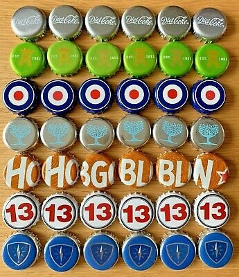 £3 • Buy 42 X Beer Bottle Crown Caps Tops Various Designs. Used. Collectable Crafts. S1