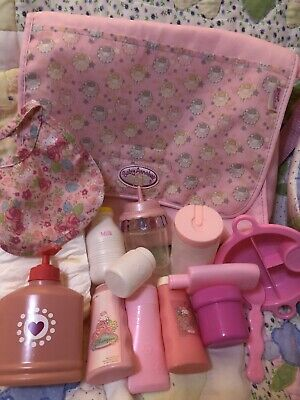 £4.50 • Buy Baby Annabel Changing Bag& Contents Nappies  Magic Bottle Drink Cup Bottles Etc