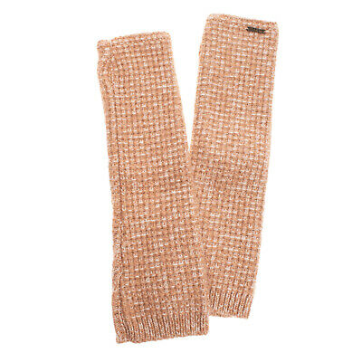 AU1.82 • Buy BARK Fingerless Gloves One Size Mohair & Wool Blend Two Tone Made In Italy