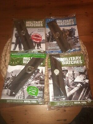 £29.99 • Buy Military Watches 4 Sealed Issues With WW2 WW1 British Watch US Navy Russian