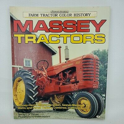 AU23.97 • Buy Farm Tractor Color History: Massey Tractors Combines Implements By CH Wendel