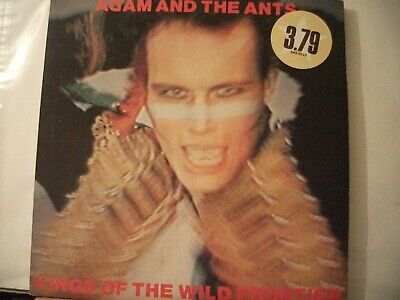 £2 • Buy Adam And The Ants -kings Of The Wild Frontier-LP RECORD-1980