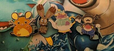 £4.50 • Buy Pokemon - Shining Fates Mad Party Pin Badge Collection Set - All 4 Badges Pins