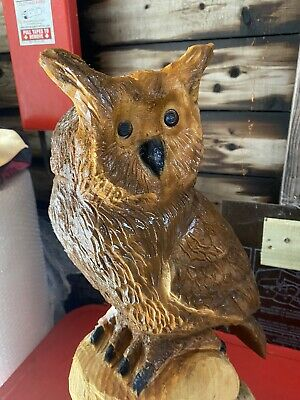 £150 • Buy Chainsaw Carved Owl Owl Carving Wood Carvings