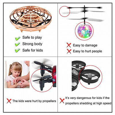 AU53.89 • Buy (Gold) - Kids Flying Toys Drones For Kids Hand Operated Drone For Boys And