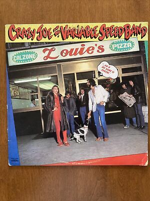 £7.25 • Buy Crazy Joe And The Variable Speed Band - Eugene CASABLANCA 1980 LP ACE FREHLEY VG